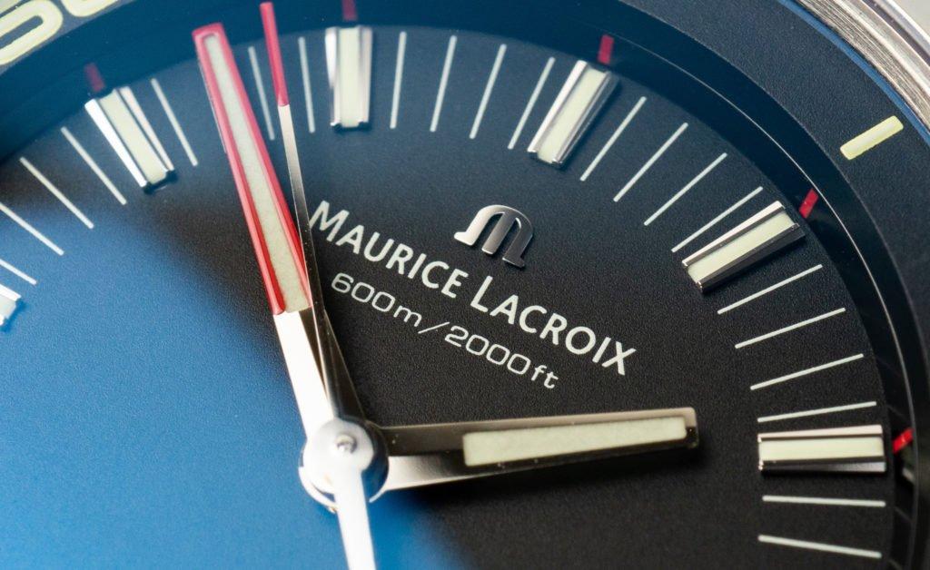 Maurice Lacroix Pontos S Diver Logo
