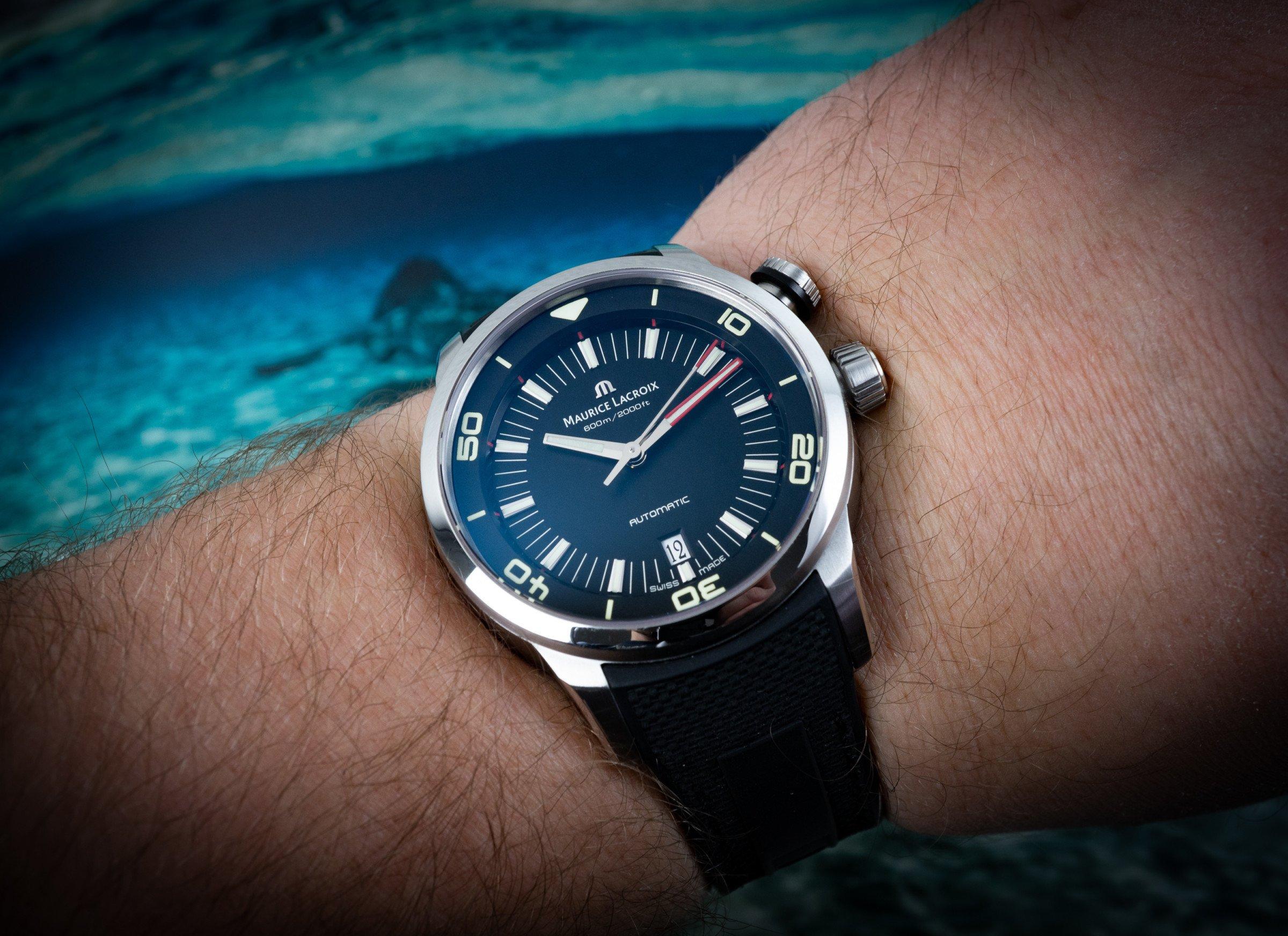 Maurice Lacroix Pontos S Diver Review Test
