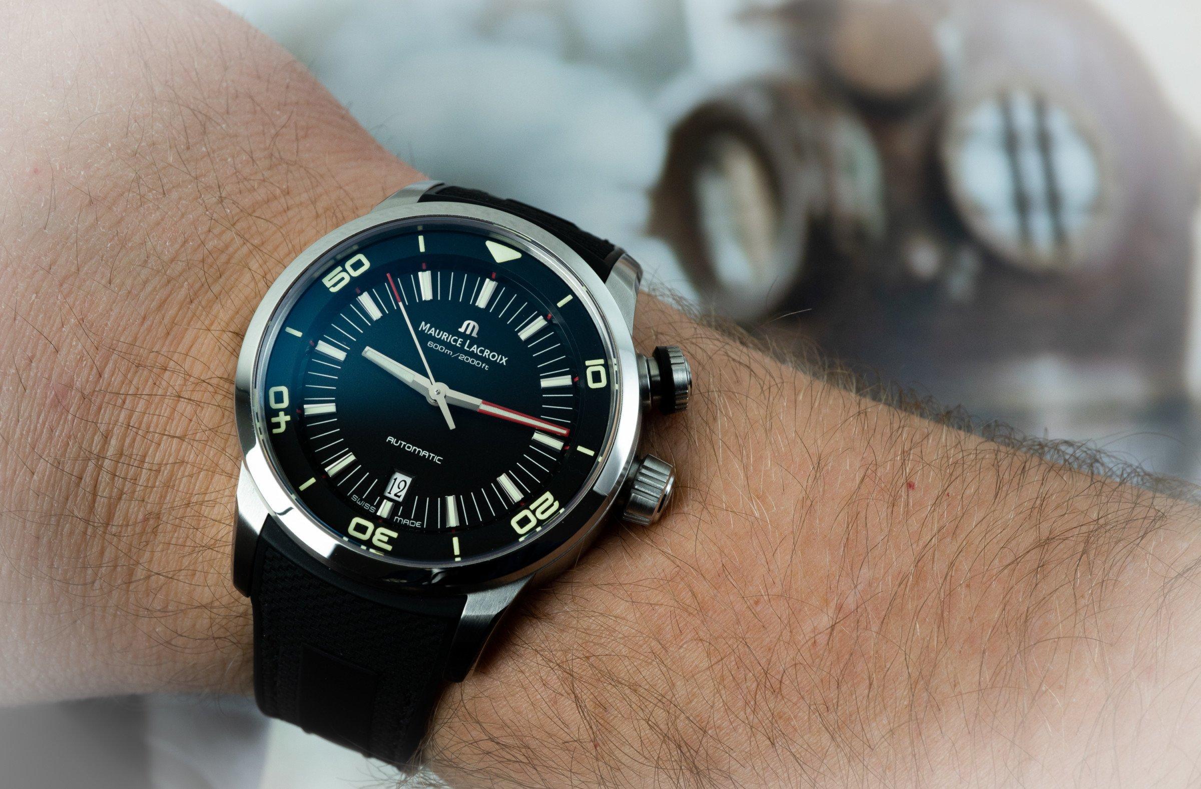 Maurice Lacroix Pontos S Diver Test