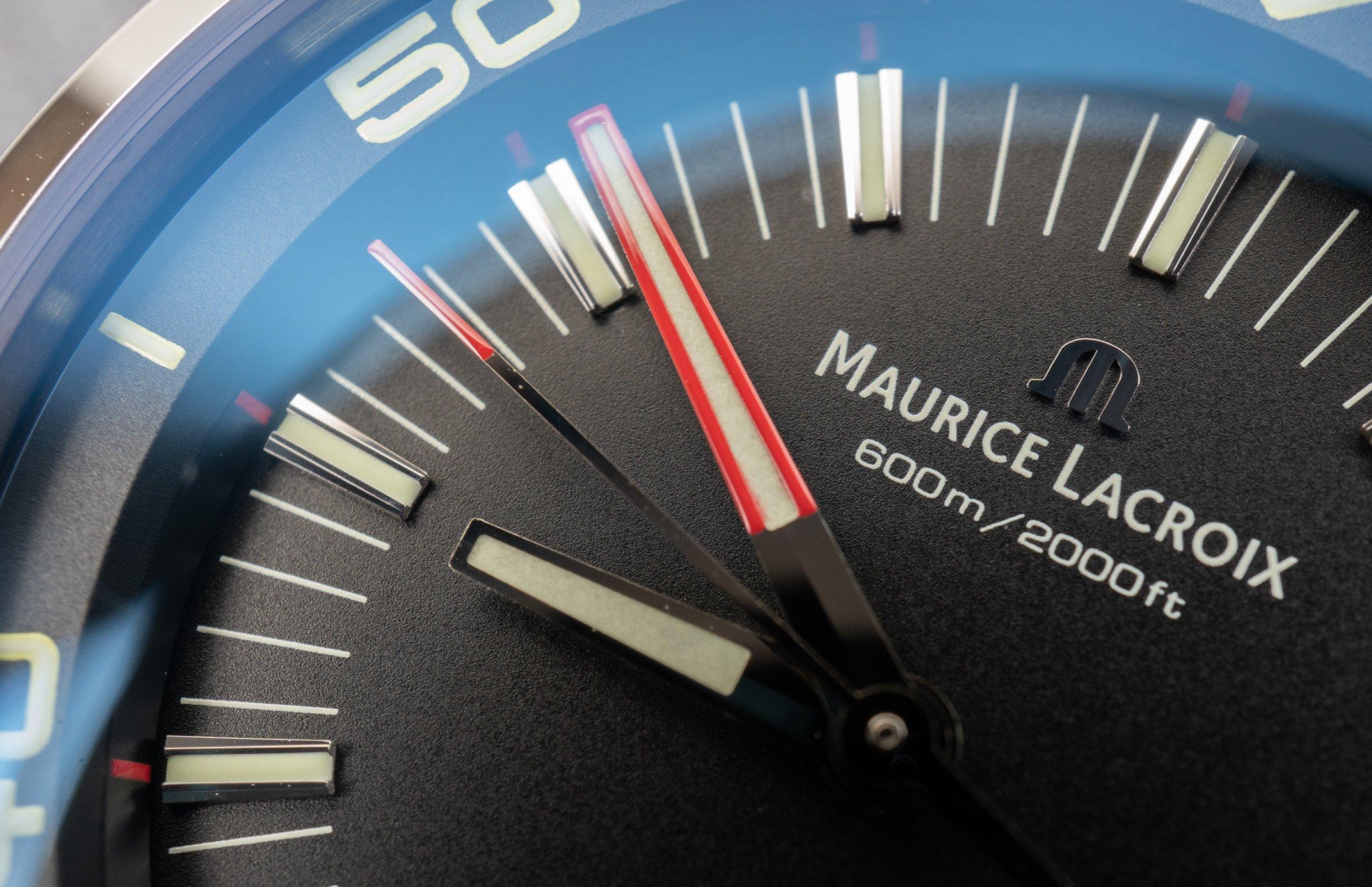 Maurice Lacroix Pontos S Diver Zeiger Lume