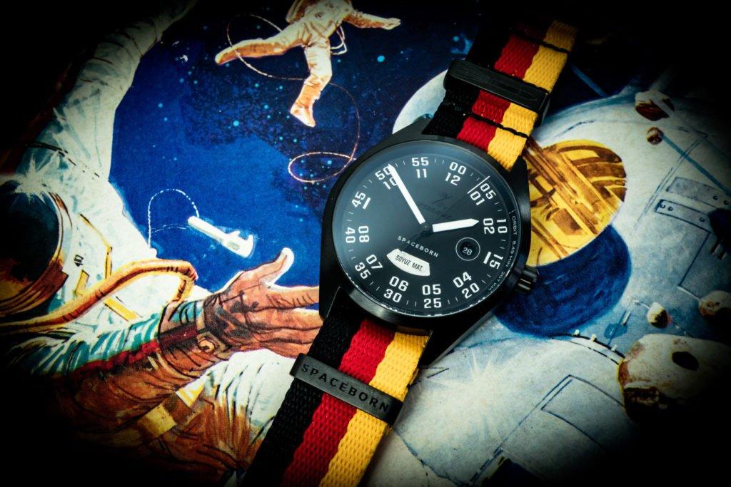 Rakete Uhr Sojus MS 09 Werenbach