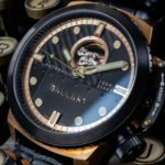 U Boat Italo Fontana Uhr Hommage Alternative Ballast 1903 Dreadnought Bronze