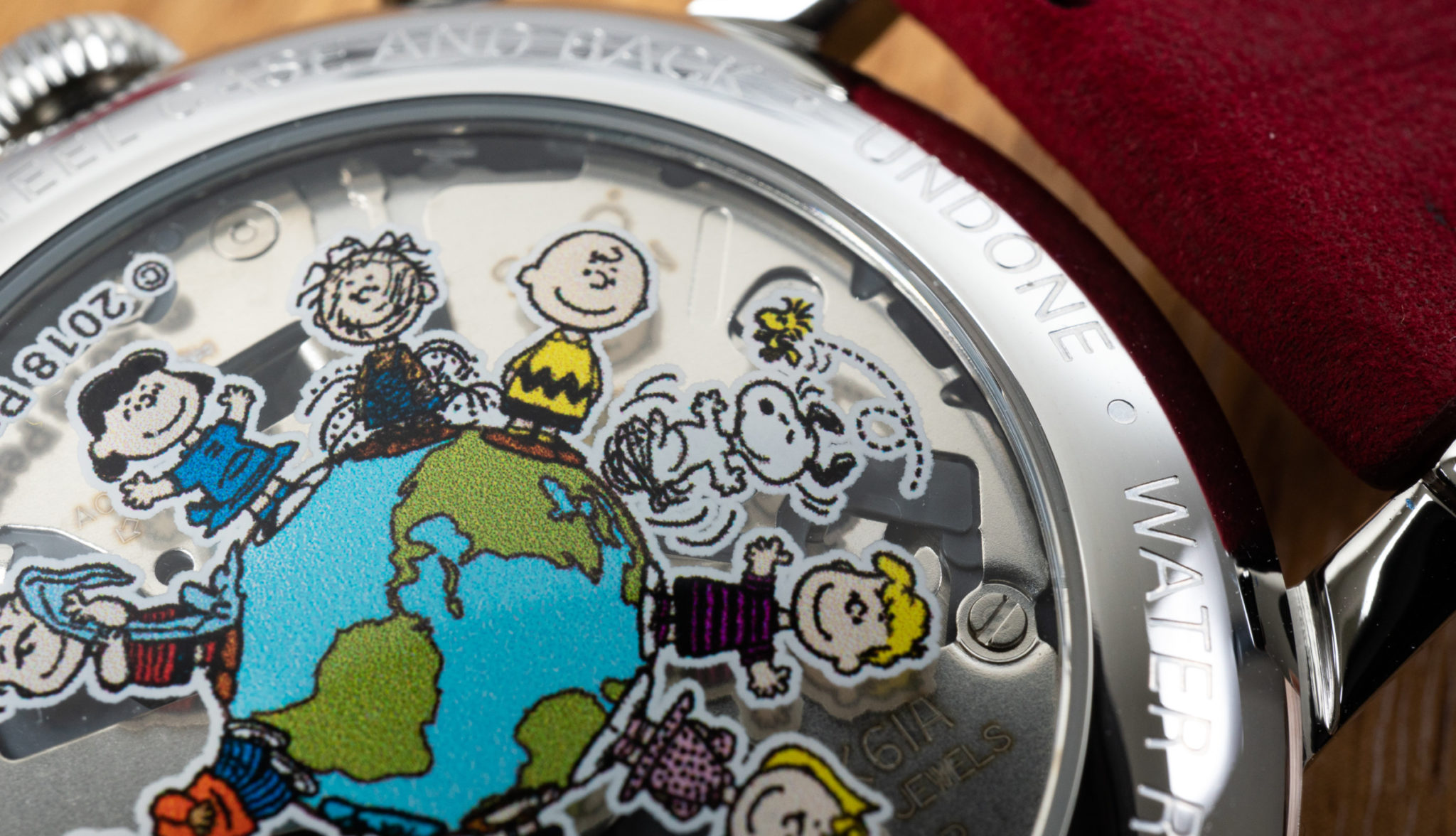 UNDONE Snoopy One World Meca Quarz Seiko
