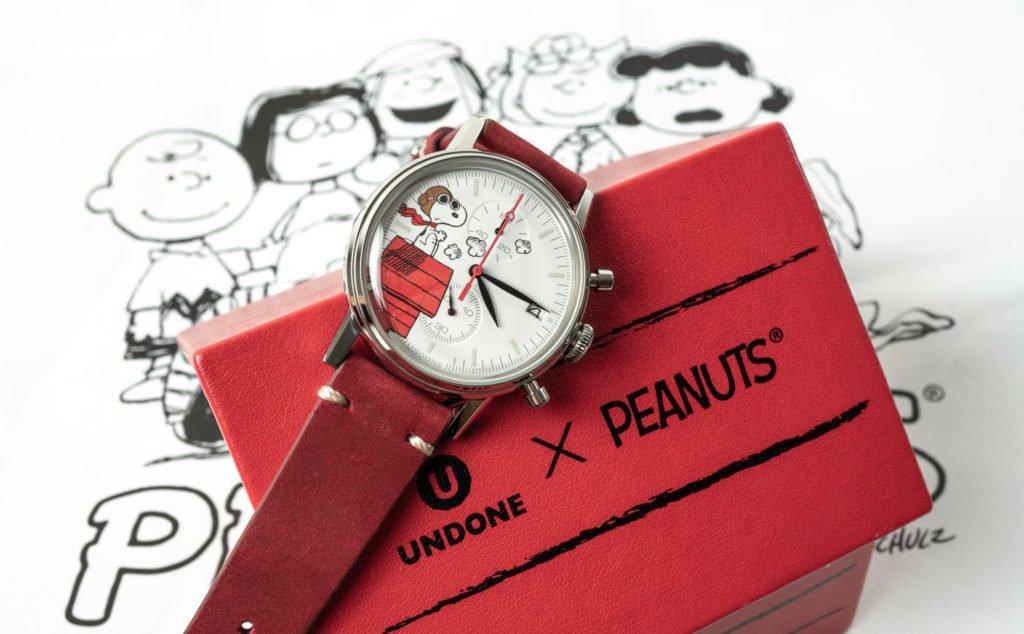 UNDONE Snoopy Pilot Chrono Uhr