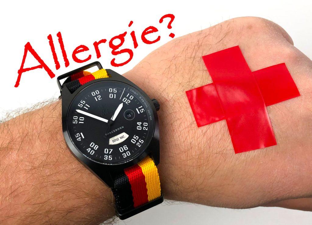 Uhr Allergie Jucken Rötung Nickel Titan Hilfe Lösungen