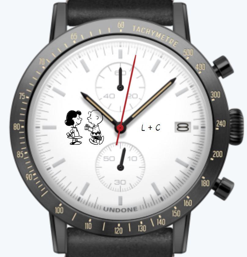 Uhrenkonfigurator Partner Uhr Snoopy Peanuts