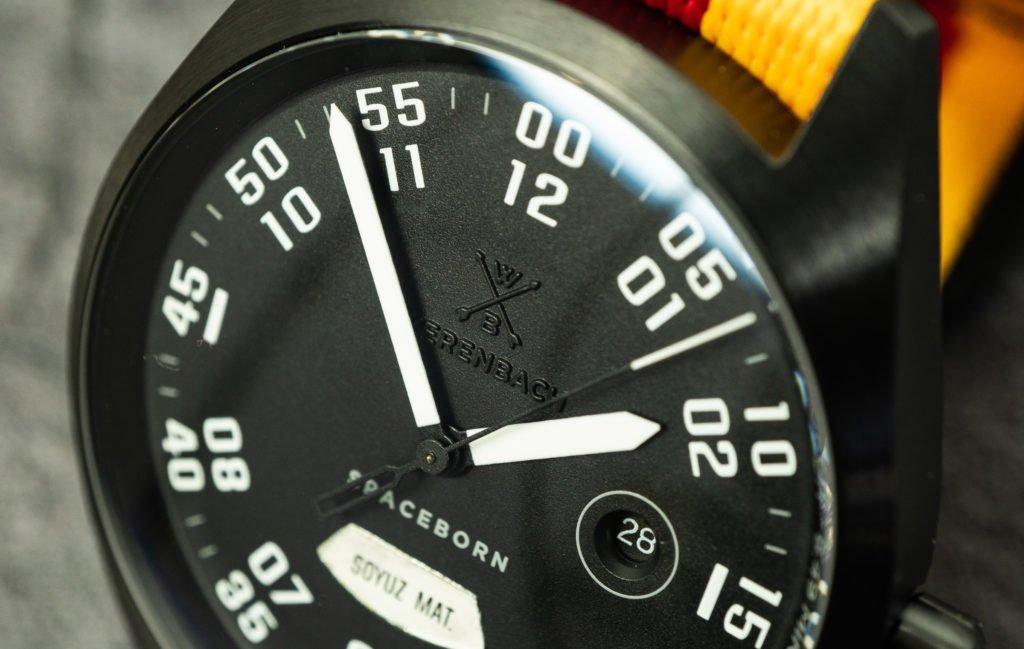 Werenbach Raketenuhr Soyuz MS09