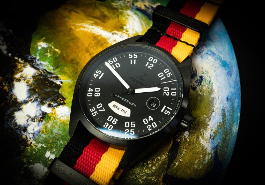 Werenbach Weltraum Raketen Uhr MACH33