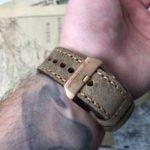Gruppo Gamma Vintage Leder Band Bronze