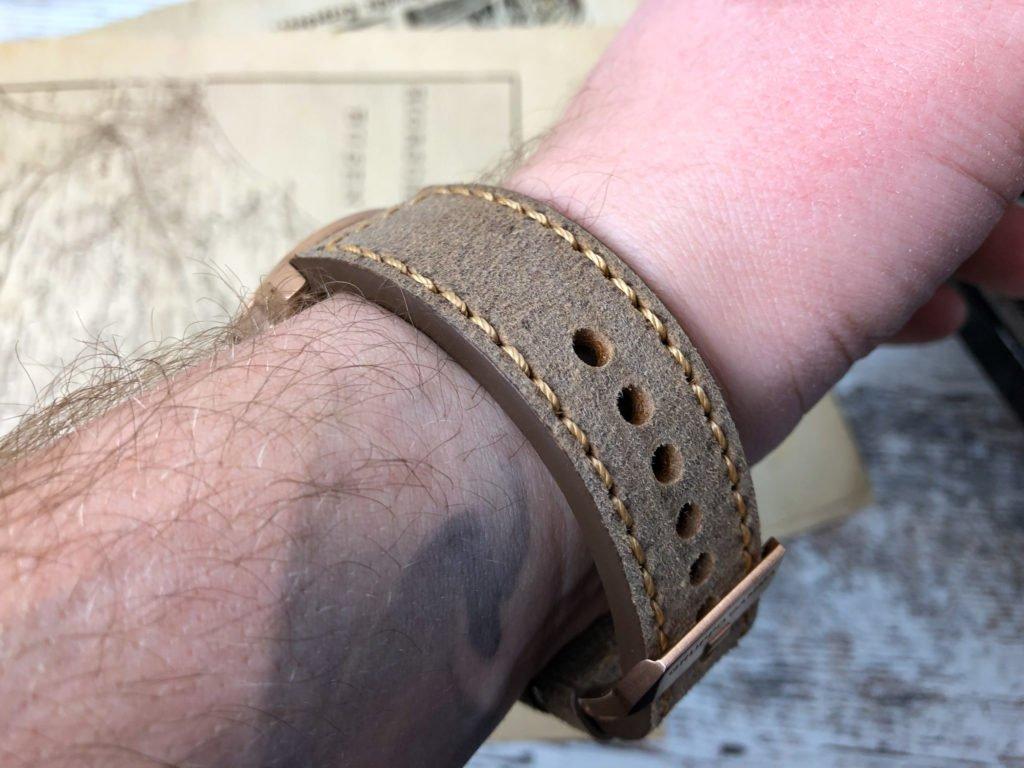 Gruppo Gamma Vintage Lederband Bronze