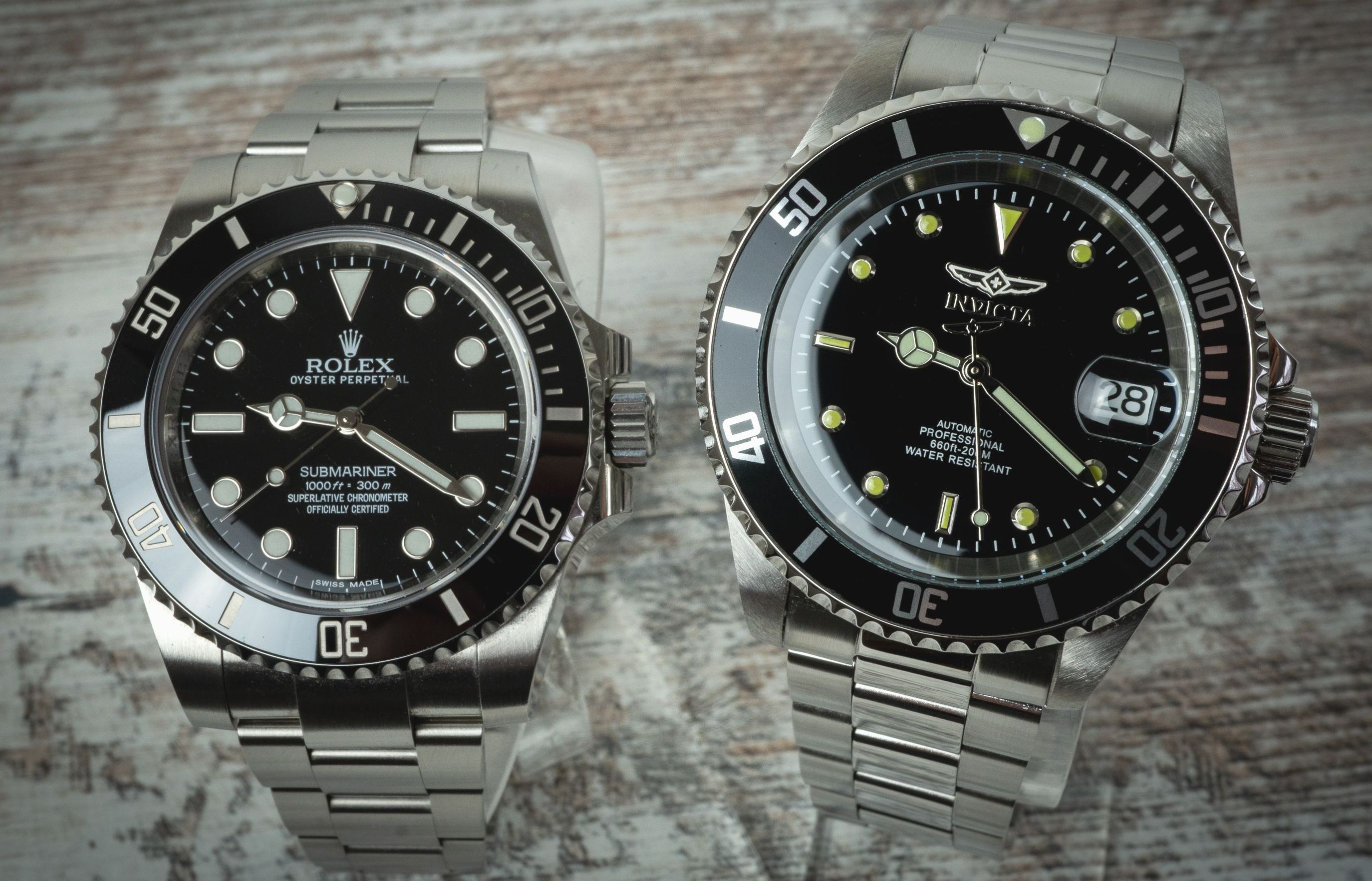 Invicta 8926OB Automatic Taucheruhr Rolex Submariner Alternative Vergleich Test Blog