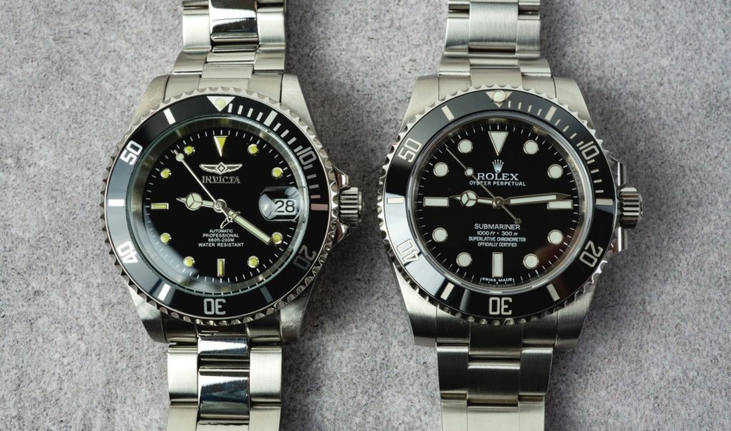 Invicta 8926OB Pro Diver Automatic vs. Rolex Submariner Vergleich