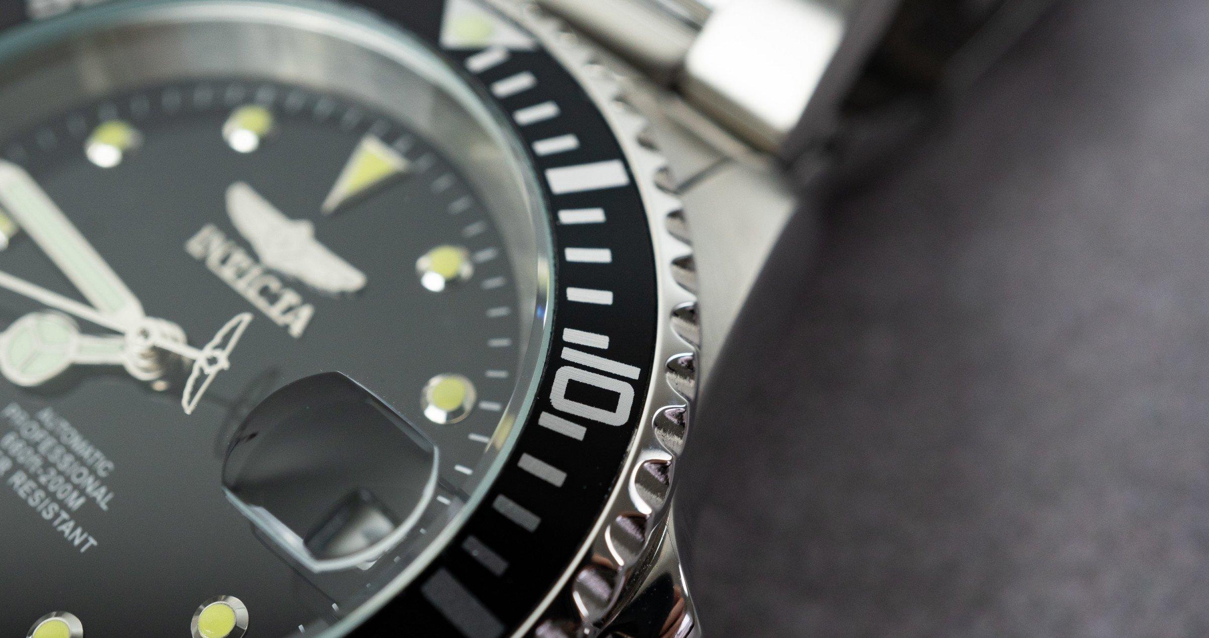 Invicta 8926OB Pro Diver Lünette Aluminium