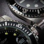 Invicta 8926OB Pro Diver Lünette im Vergleich Rolex Submariner