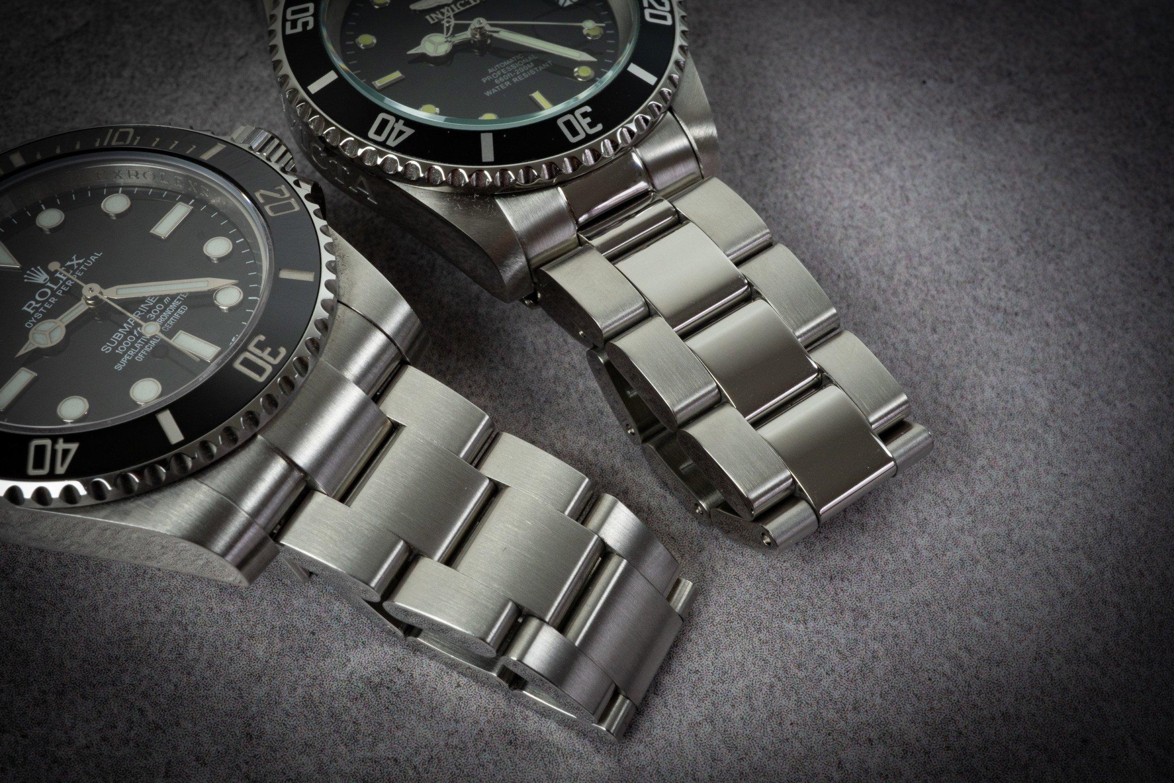 Invicta 8926OB Pro Diver Vergleich Rolex Submariner