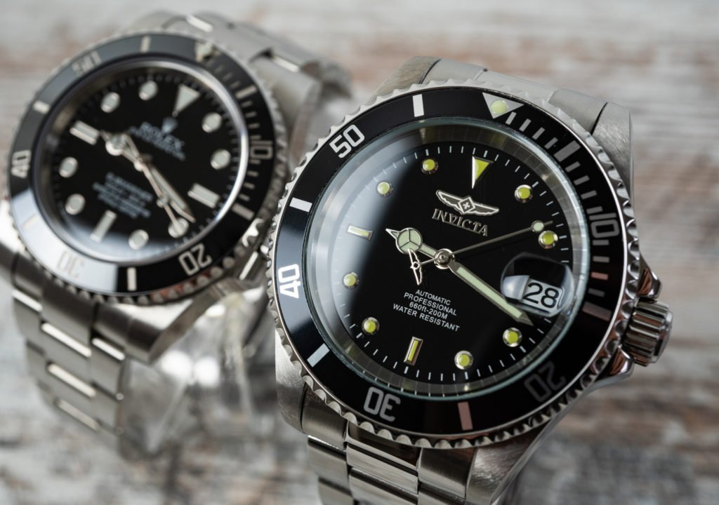 Invicta 8926OB Pro Diver vs. Rolex Submariner