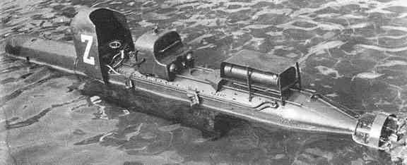 Kampfschwimmer Gruppo Gamma Torpedoreiter SLC_Maiale