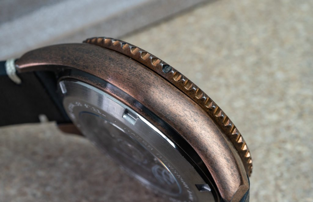 Altgold Vintage Uhr Spinnaker Wreck