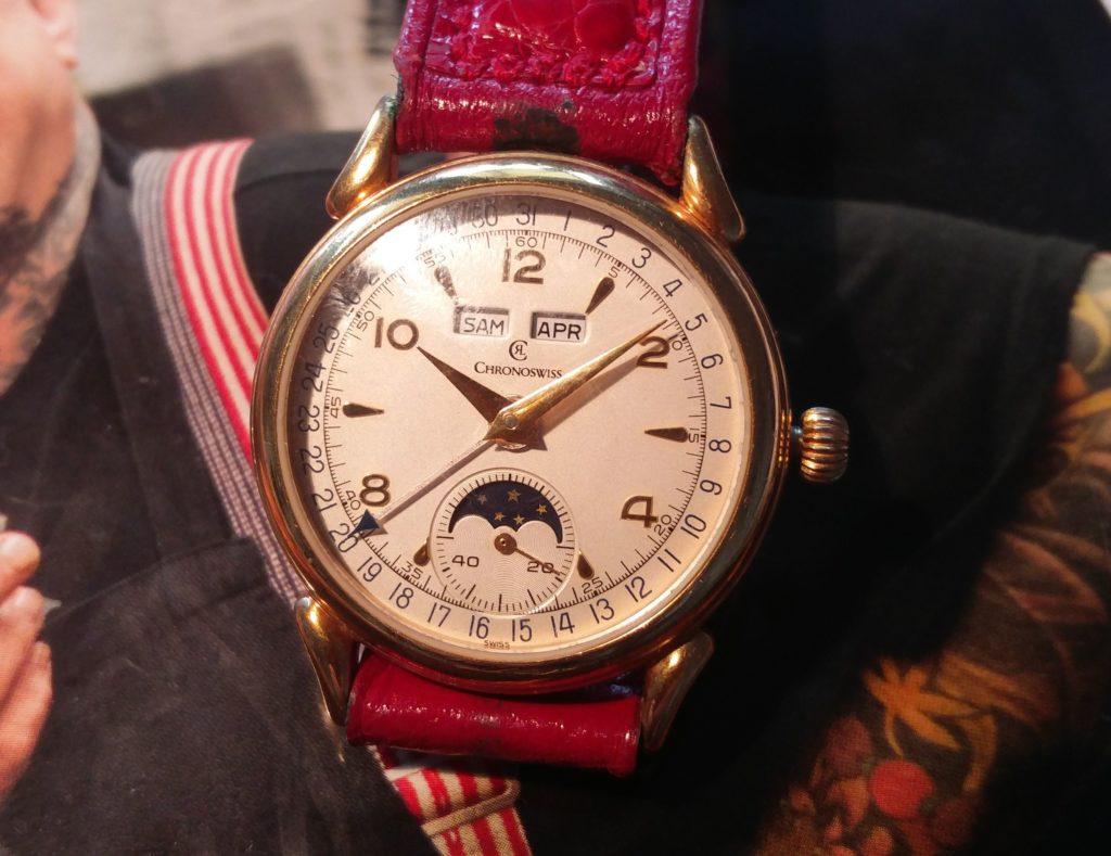 Chronoswiss Vintage Uhr