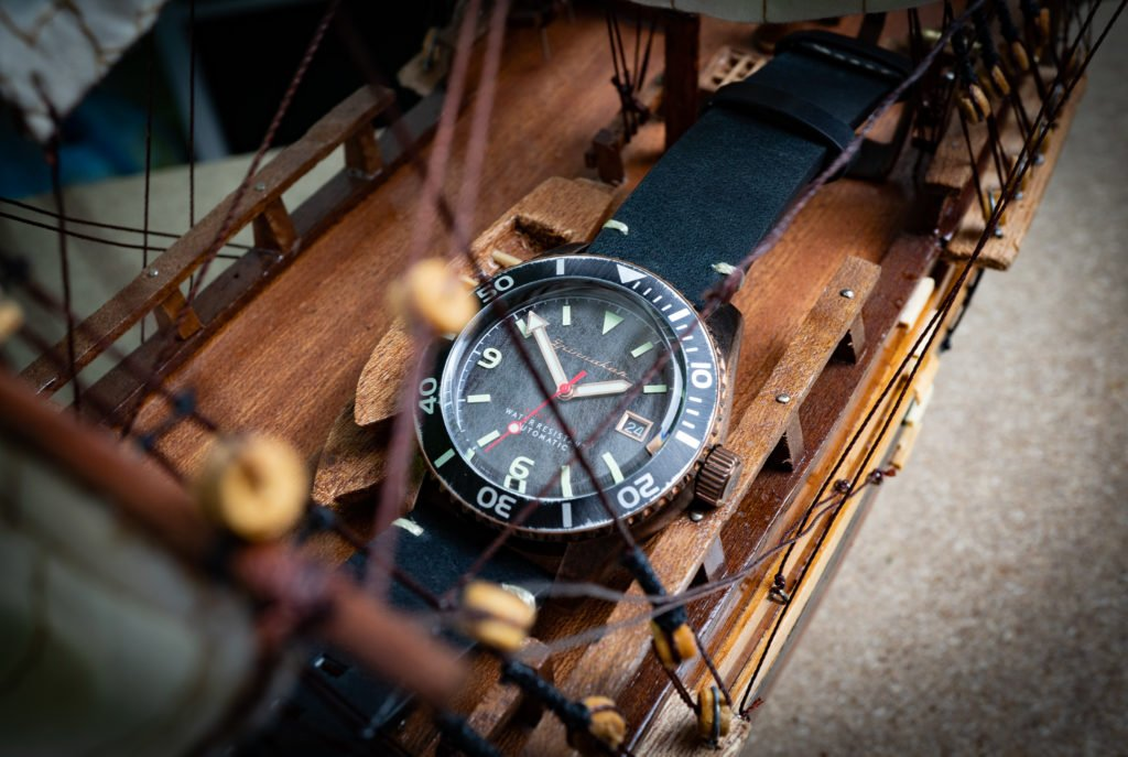 Spinnaker Wreck SP-5065 Schiffswrack Uhr