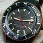 Spinnaker Wreck SP-5065 alt gold Taucher Uhr