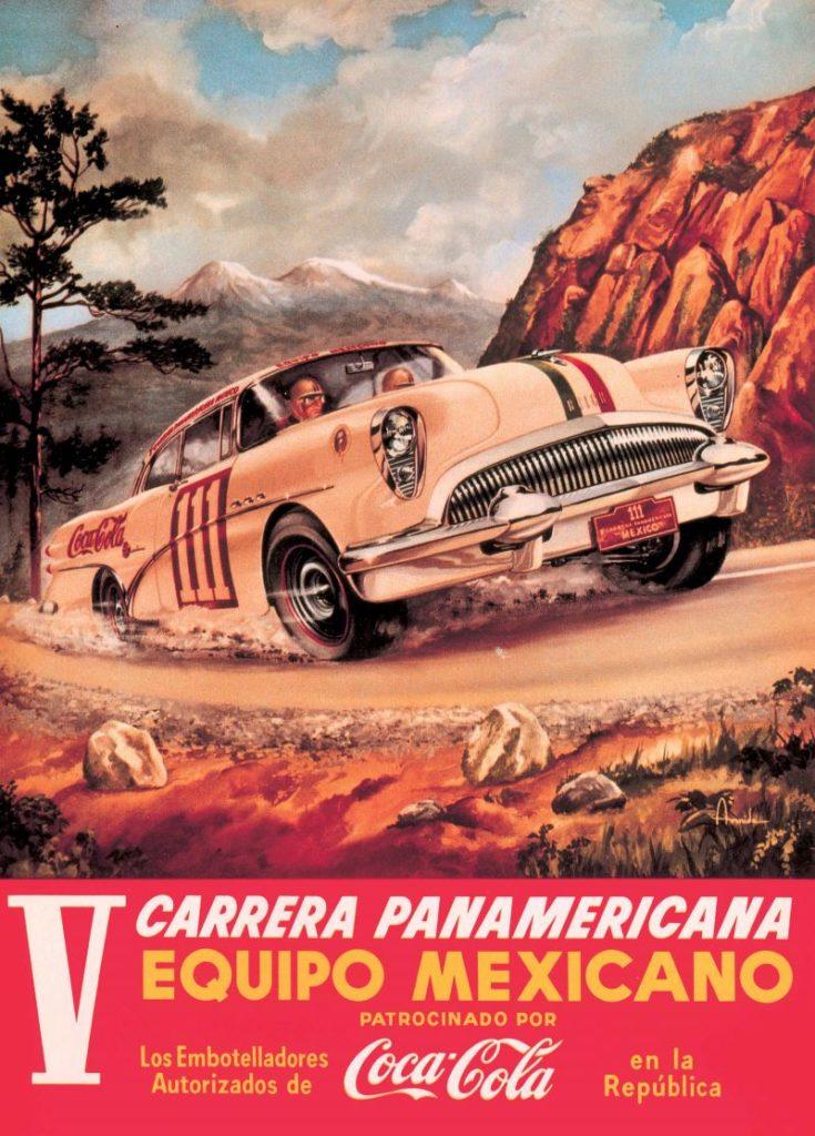 Carrera Panamericana Werbung Poster 1963