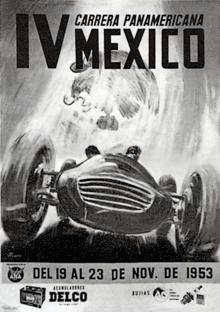 Carrera_Panamerciana_poster_1953