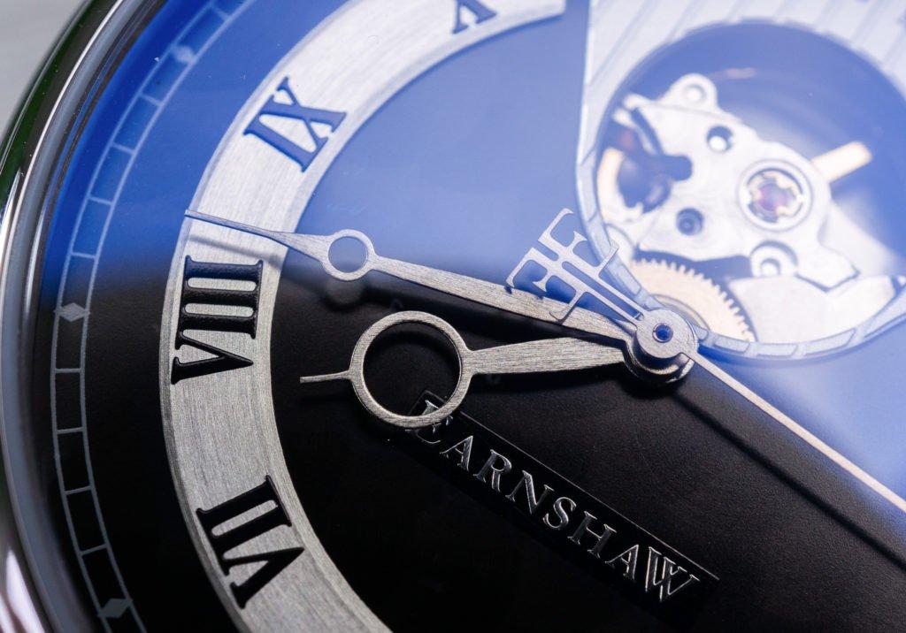 Earnshaw Uhr Test Swiss Made römische Ziffern