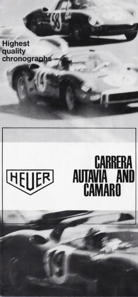 Heuer Ad 1968 Autavia Carrera Camaro