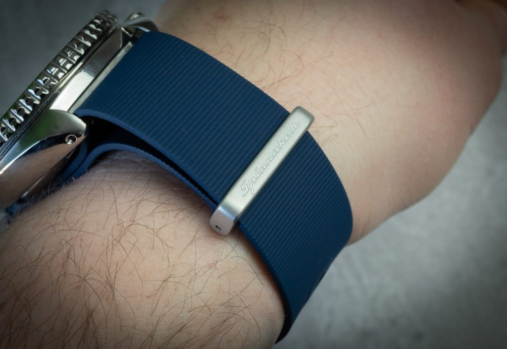 Kautschuk Nato Uhr Band blau