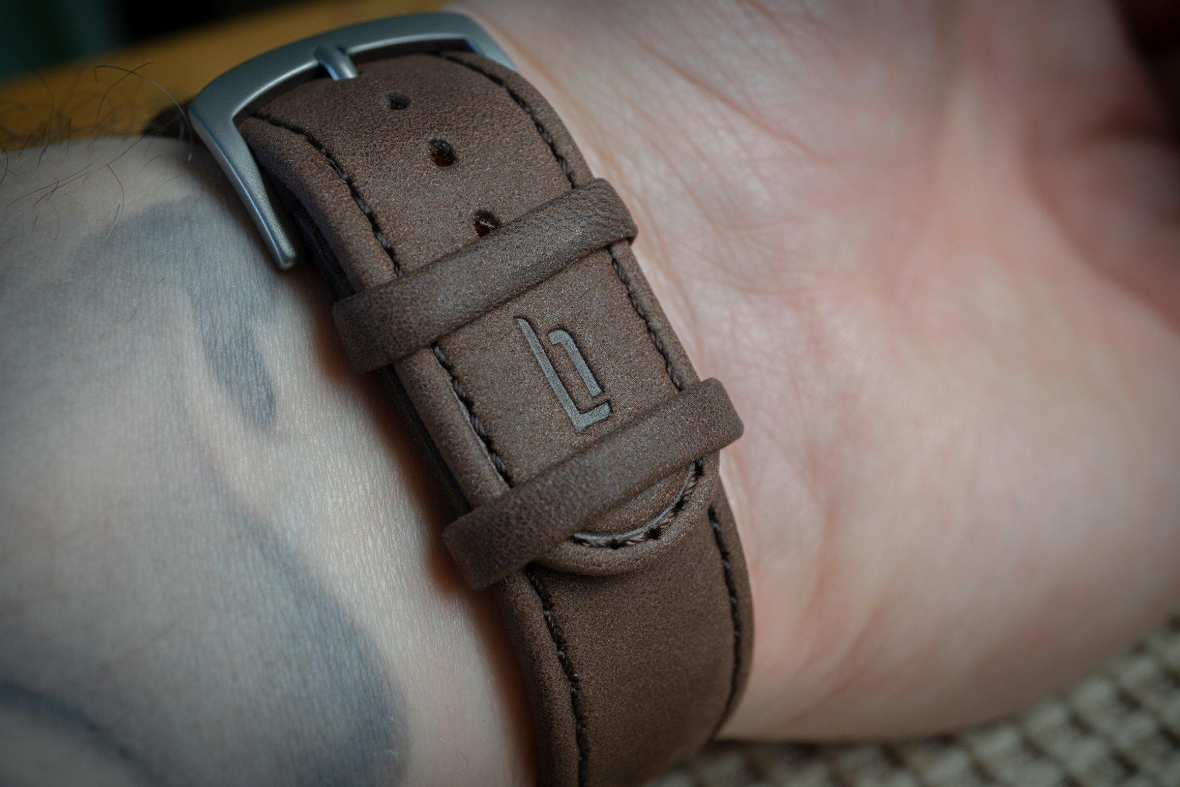 Lilienthal Berlin Lederband Armband