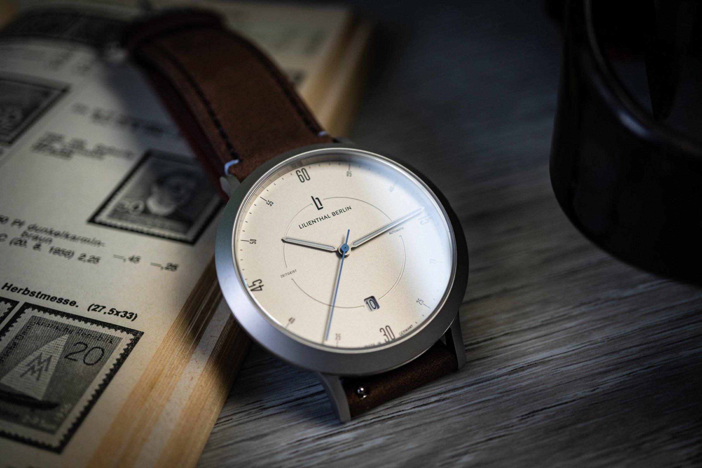 Lilienthal Berlin Zeitgeist Automatik-Uhr im Test