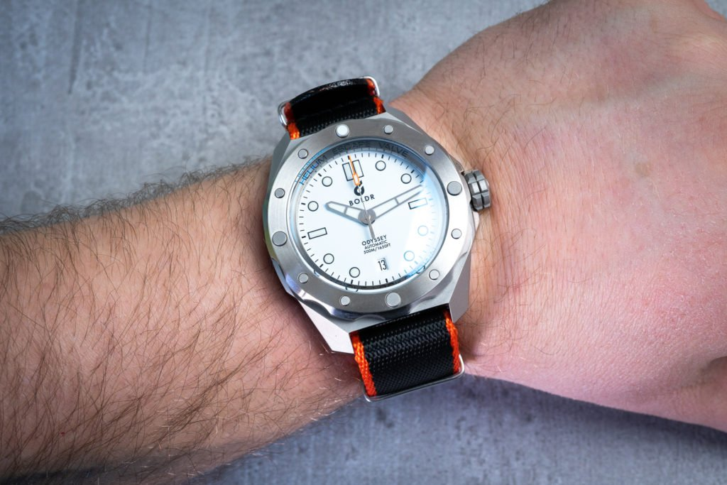 Nato Band Orange Schwarz