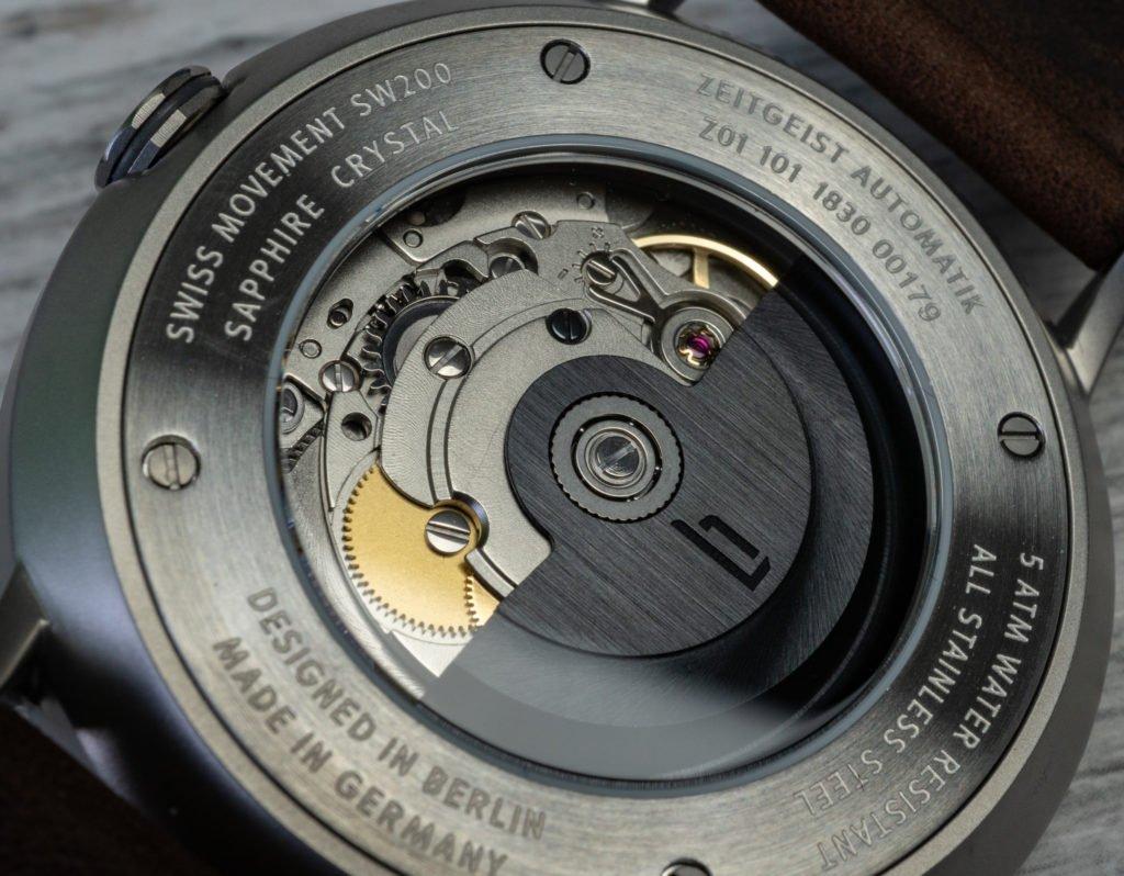 Sellita SW200 Lilienthal Berlin Uhr