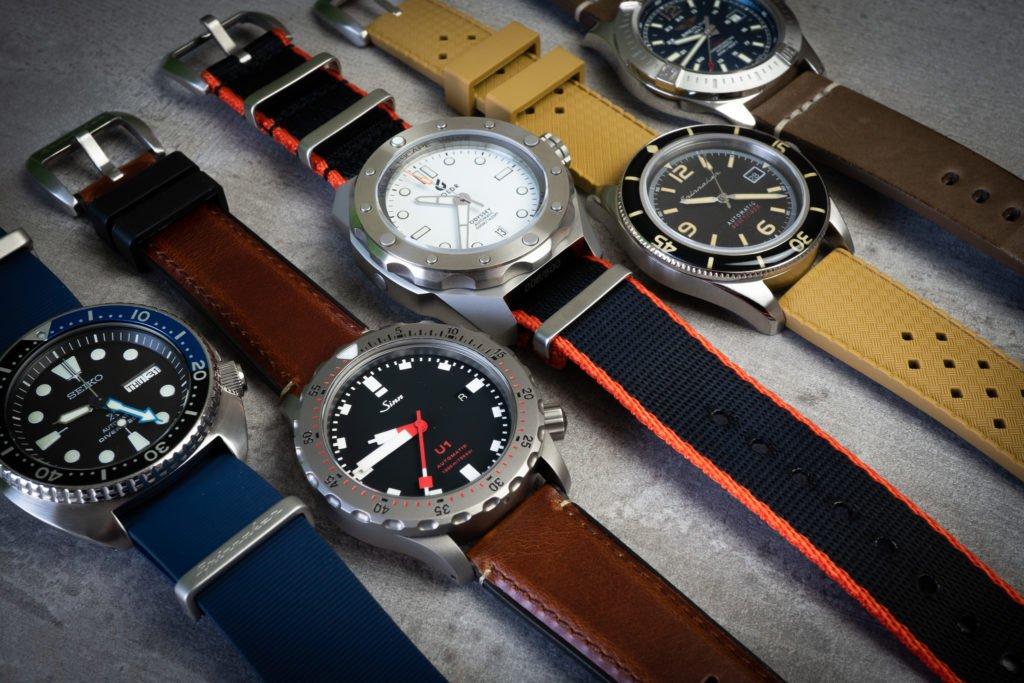 Spinnaker Uhrenarmbänmder Kollektion