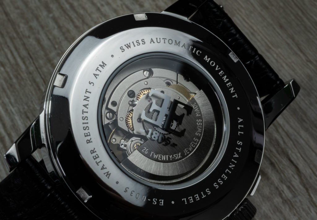 Swiss Automatik Werk Earnshaw Uhr