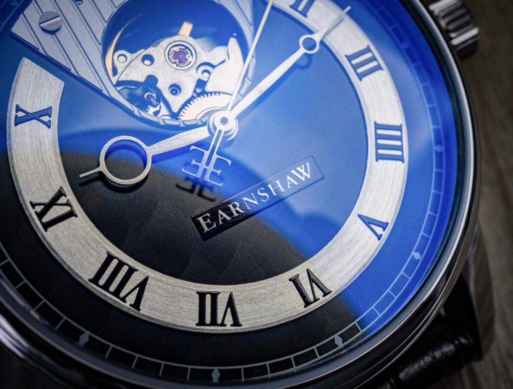 Swiss Made Earnshaw Uhr römische Ziffern Automatik