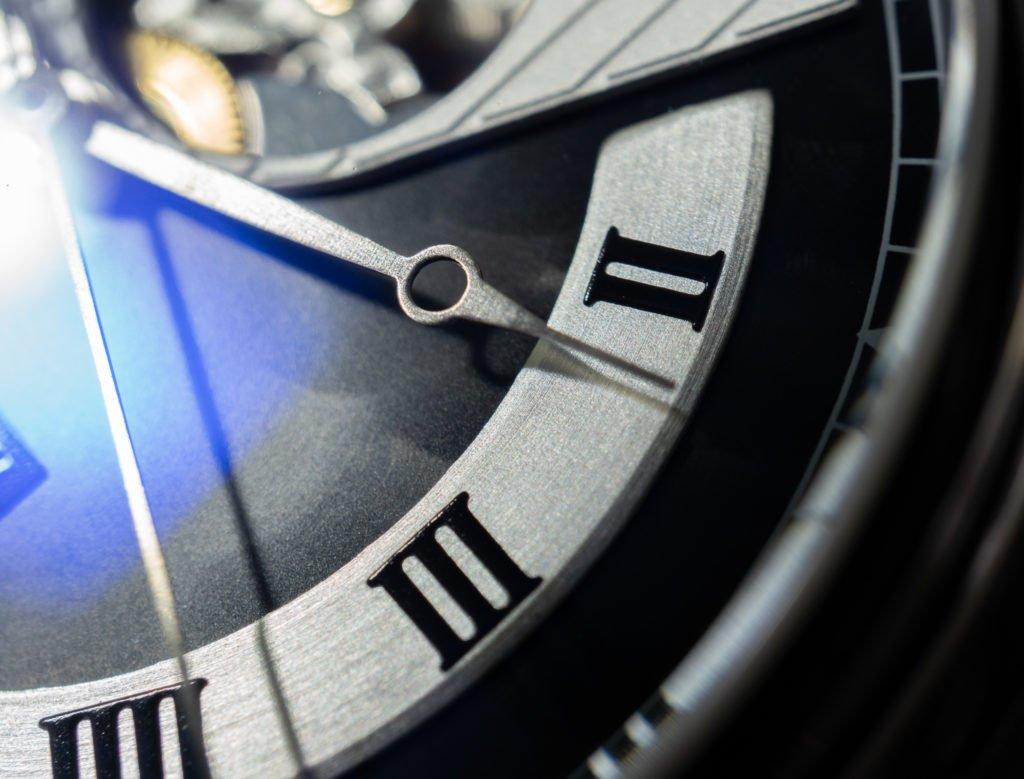 Swiss Made Uhr römische Ziffern