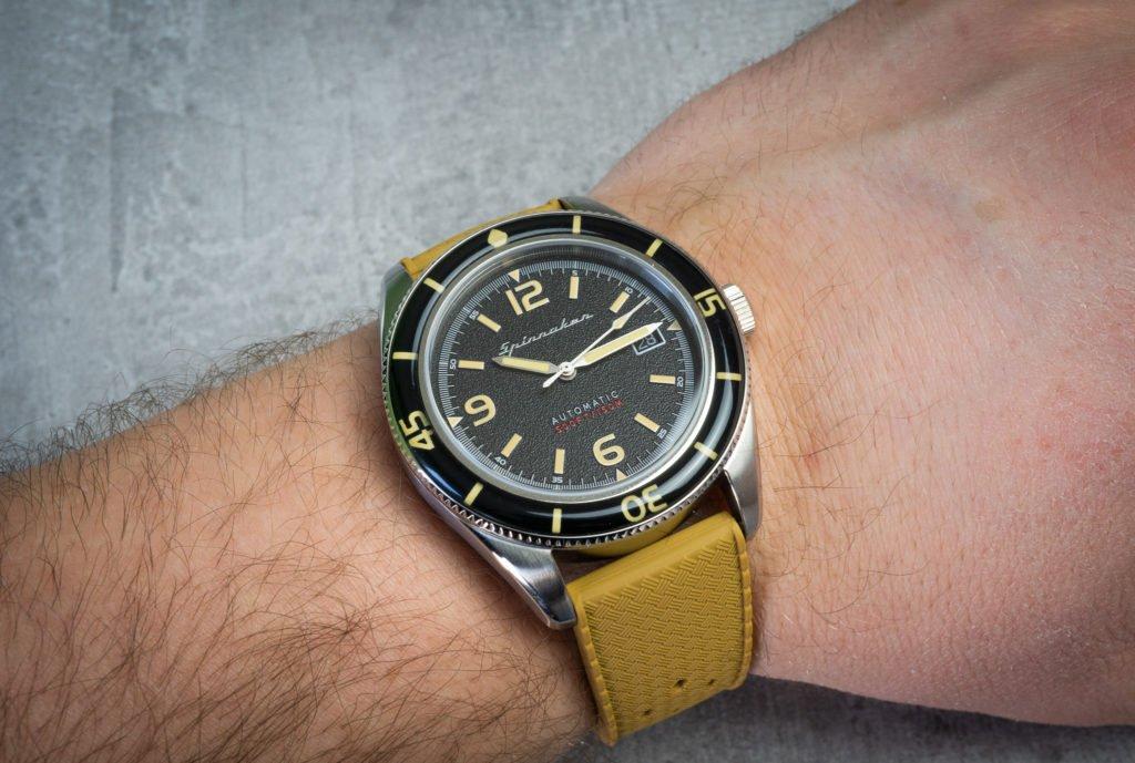 Tropical Kautschuk Band sand Uhr