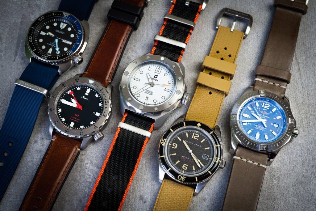 Uhren Bänder für Sommer gegen Schwitzen