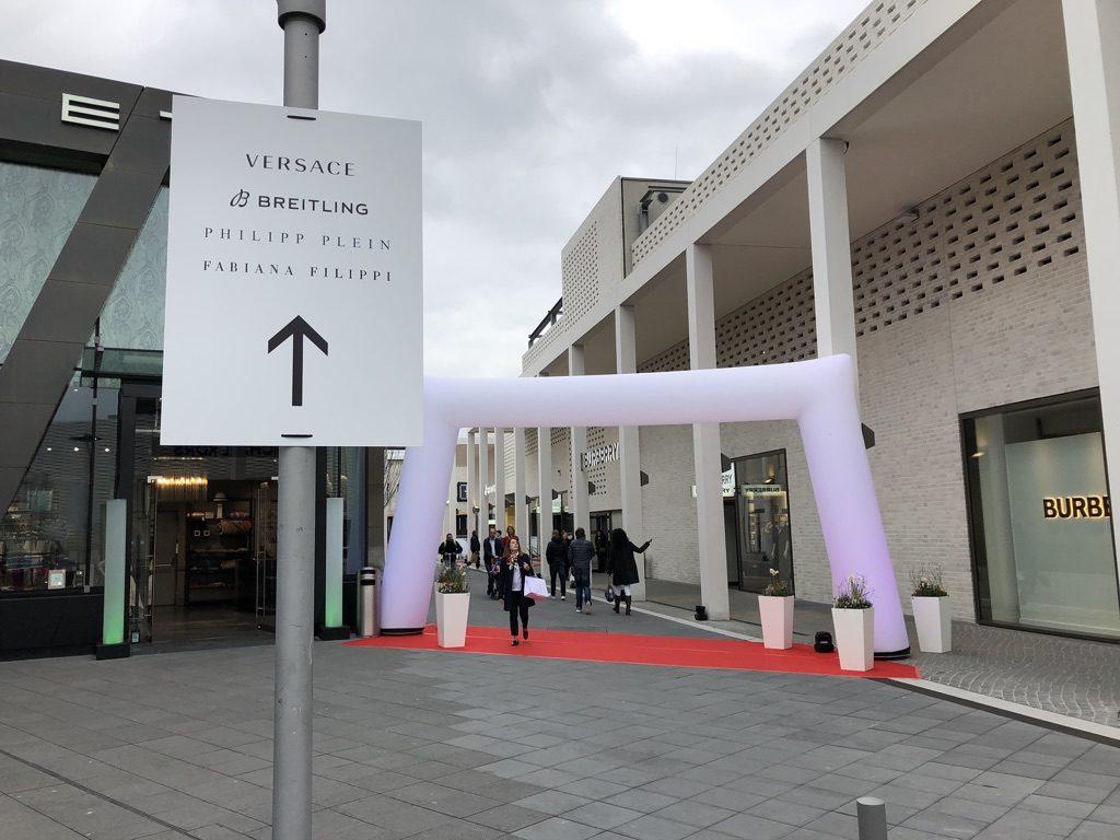 Big Opening April 2019 Metzingen Breitling Neueröffnung Erweiterung