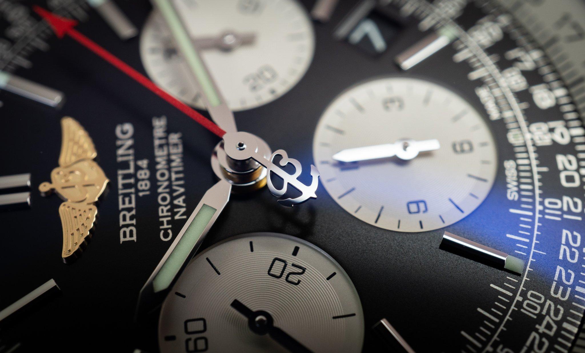Breitling Navitimer 01 Zeiger B
