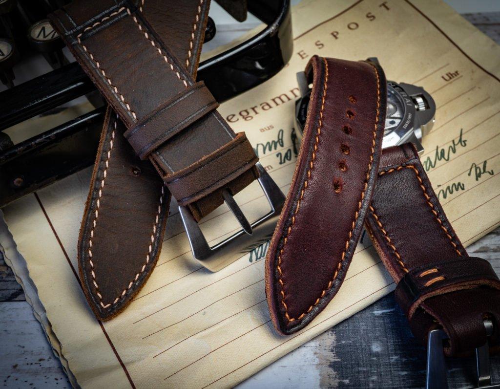 Panerai Armbänder Lederbänder sehr weich flexibel