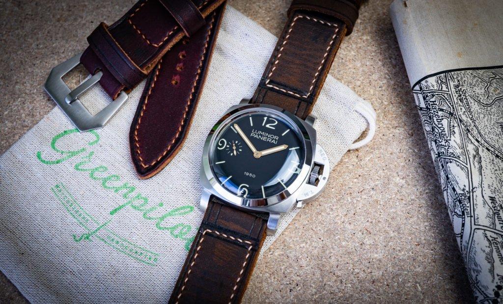 Panerai Armband Lederband Uhrenband Vintage Retro Manufaktur