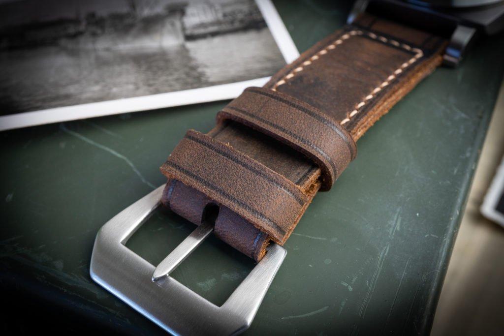 Panerai Armband Lederband Uhrenband braun deutschland Manufaktur