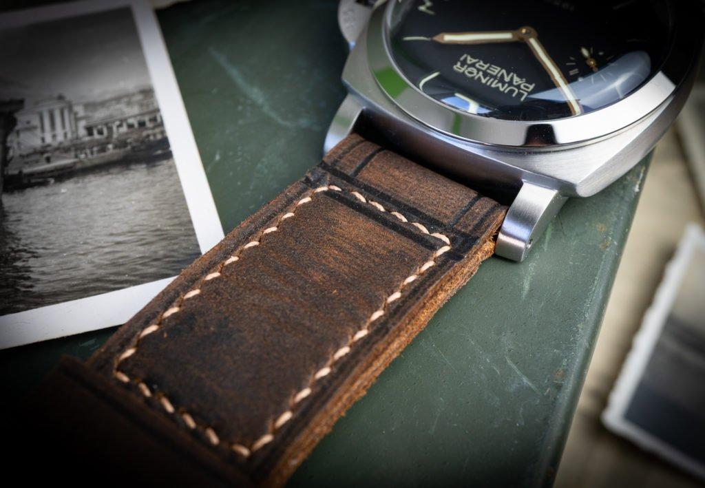 Panerai Armband Lederband Uhrenband braun im Test