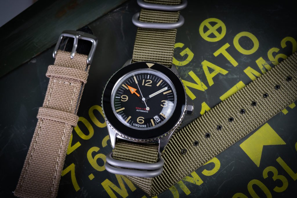 UNDONE Basecamp Ersatzbänder Nato Nylon Uhrenband