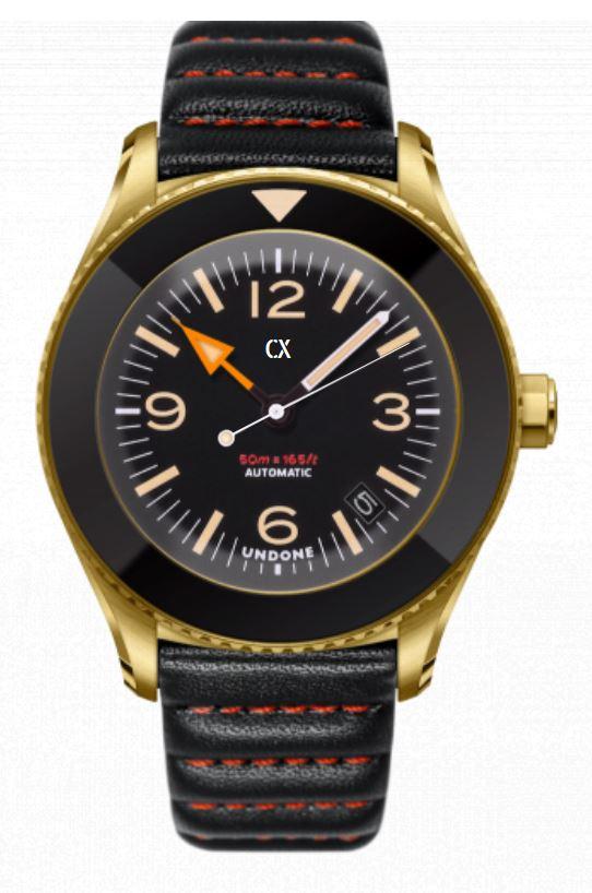 UNDONE Basecamp Konfigurator für Uhr