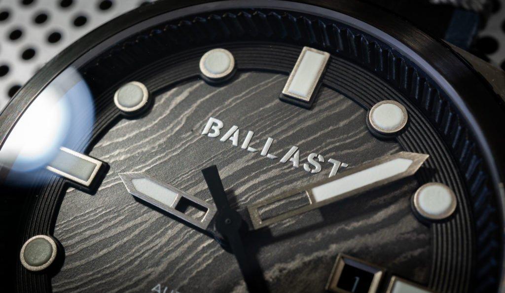 Uhr Damast Stahl Ballast 1903