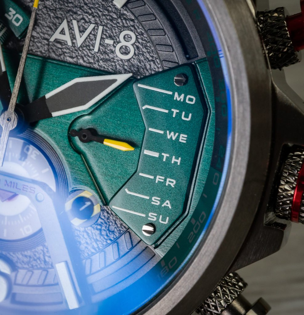 Chronograph Wochentag AVI-8 Uhr Test